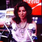 1979 Vintage Sexy Spanish Latina Woman Girl Coca Cola 8x10 Color Photo Original