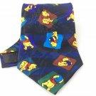 Men's New Winnie the Pooh 100% Polyester Tie Disney NWOT Necktie Ties ST040