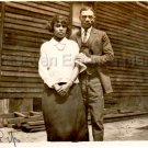 Antique Photo Well Dressed African American Couple Black Americana Pretty People