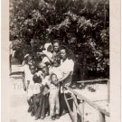 1940s Vintage Mothers w/Children African-American Photo Black Americana People
