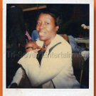 1970s Vintage African-American Woman Photo Pretty Teeth & Smile Black People USA