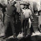 Vintage African American Men Photo Fishermen Coca Cola Sign Old Black Americana