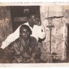 1950s Vintage African American Couple Pretty Woman Man Old Photo Black People