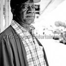 Old Black Man Photo African-American 4X6 B&W Barber People Stock Photography US