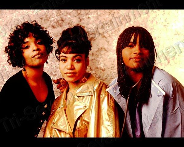 Vintage 1990s Salt N Pepa 8x10 Photo African American Rappers Rap Black People