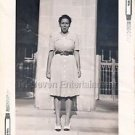1942 Vintage Pretty African-American Mulatto Woman Photo Black Americana People