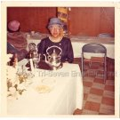 Vintage Older African American Elderly Woman Mother Old Photo Black People Color
