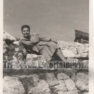 Vintage African American Photo Beautiful Woman in Europe Old Black Americana