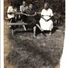 Vintage African American Pretty Older WomenTogether Old Photo Black Americana