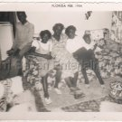 1954 Vintage Pretty African-American Family Children Old Photo Black Americana