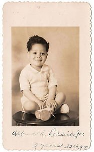 Vintage African American Photo Adorable Young Boy Child Kid Old Black Americana