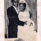 1962 Vintage African-American Married Couple Old Photo Black People Man Woman