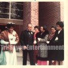 Vintage African American Photo Older Couple at Wedding Old Black Americana