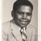 1950s-70s Handsome African-American Young Man School Class Photo Black People