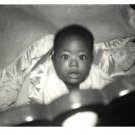 Vintage African American Photo Cute Young Baby Boy Children Old Black Americana