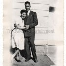 1940s Vintage Happy African-American Woman Man Old Photo Black Americana People