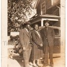 1928 African American People Men Woman Car Old Antique Photo Black Americana