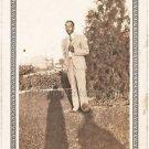 1940-1949 Vintage Distinguished African-American Man in Suit Photo Black People