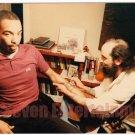 1980s Vintage Tattoo Photo African American Man Artist Body Art Tattooed Flash