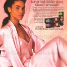 1980s Vintage African-American Woman Ambi Skin Tone Print Ad Photo Clipping