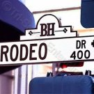 Rodeo Drive 8x10 Photo Beverly Hills California Street Sign Color Original USA