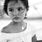 Pretty Hispanic Young Latina Girl Gorgeous Eyes 8X12 Contemporary Photo Original