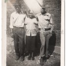 Vintage African American Cute Young Pretty Girl Guys Old Photo Black People Teen