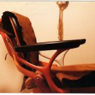 1979 Vintage Tattoo Photo Old Chair Body Art Design Artist Color Tattooed Flash