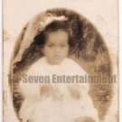 Antique Photo African-American Baby Real Photo Postcard RPPC Old Black Americana