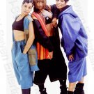 Vintage 1990s Salt N Pepa 8x10 Photo African American Rappers Rap Music Girls