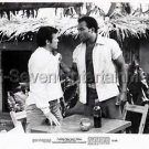"""JIM BROWN """"I ESCAPED FROM DEVIL'S ISLAND"""" MOVIE PHOTO AFRICAN-AMERICAN (1973) US"""