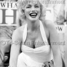 Marilyn Monroe 8X10 Matte Photo Hollywood Blvd B&W Replica Movie Celebrities US
