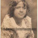 Antique African American Photo Girl Real Photo Postcard RPPC Black Americana