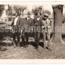 Antique African American Photo Handsome Young Men in Suits Old Black Americana