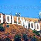 Hollywood Sign Photo Walk of Fame Photography Image 2000-Now Color Prints Poster