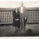 Vintage African American Photo Older Man Woman Couple Old Black Americana