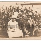 Antique African American Photo Family Group People Woman Man Old Black Americana
