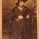 c1915 Antique African-American Woman Fancy Feather Hat Real Photo Postcard RPPC