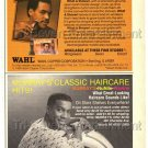 1989 Vintage Wahl Murrays NuNile Wavine African-American Print Ad Photo Clipping