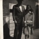 Vintage African American Photo Pretty Girl and Man Old Children Black Americana