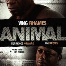 African American Collectible Movie BACKER CARD Ving Rhames ANIMAL