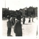 Vintage African American Photo Young Boys Outside Children Old Black Americana