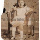 Antique African American Photo Children Adorable Girl Child Old Black Americana