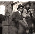 Antique African American Photo Pretty Woman Couple Man Group Old Black Americana