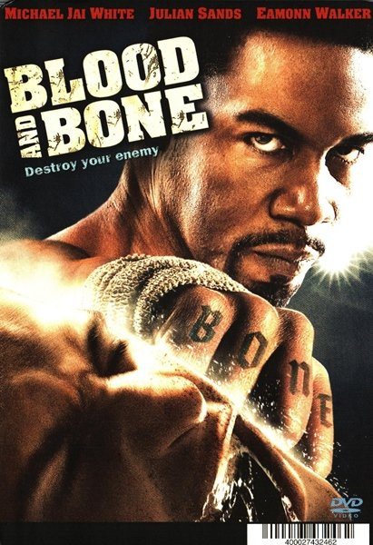 African American Collectible Movie BACKER CARD Michael Jai White BLOOD AND BONE