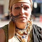 Middle Eastern Woman Photo Gypsy Color Culture Face  Persian Armenian Ornaments