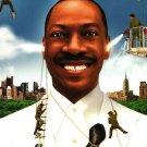 African American Collectible Movie BACKER CARD Eddie Murphy MEET DAVE