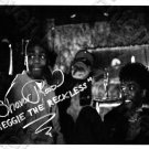 """SHAVAR ROSS HAND-SIGNED FRIDAY THE 13TH PART 5 """"REGGIE & BROTHER DEMON"""" PHOTO"""