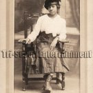 Antique African American Pretty Lady Real Photo Postcard RPPC Black Americana 01