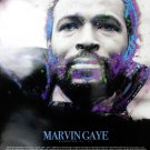 Marvin Gaye Poster w/ Biography Music Singer African American Art Photo (18x24)